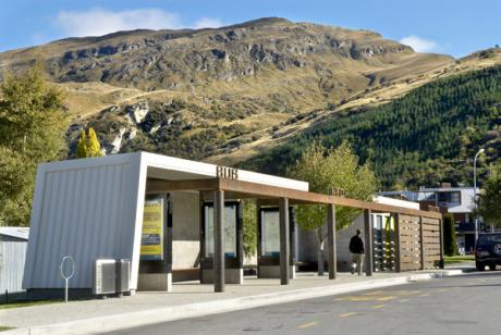 Frankton Bus Shelter Info Site And Public Toilets Find Architects Interior